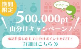 「ポイント山分けキャンペーン」バナーデザイン制作